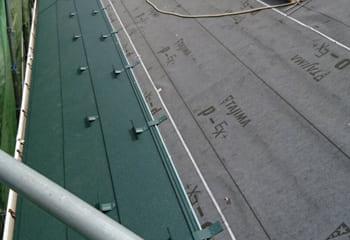 5.ガルバリウム鋼板張り