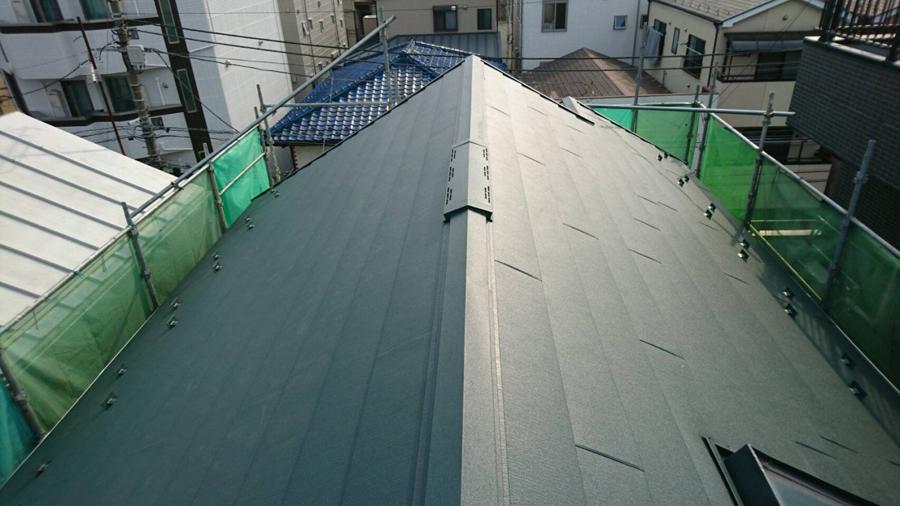 江戸川区の屋根と外壁リフォーム工事 完成