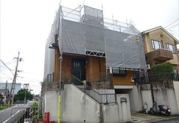 3.奈良市の屋根リフォーム工事開始