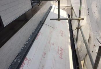 5.下屋根の施工