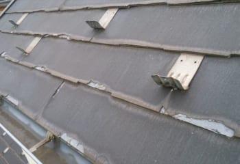 屋根材の剥離現象