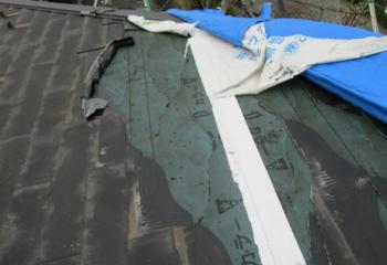 屋根材の被災