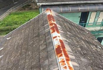 既存屋根の劣化の様子1