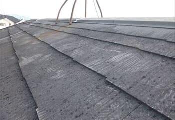 屋根基材の露出