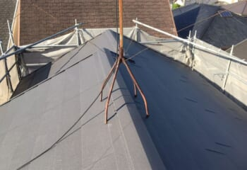 堺市西区の屋根カバー工法はテイガク屋根修理で