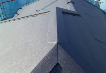 練馬区の屋根カバー工法完成
