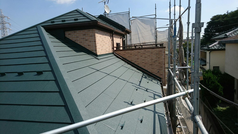 川崎市麻生区の屋根カバー工法はテイガク屋根修理で