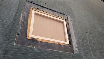 天窓をふさぐ1