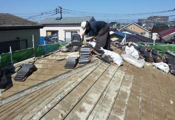 引掛桟葺き工法