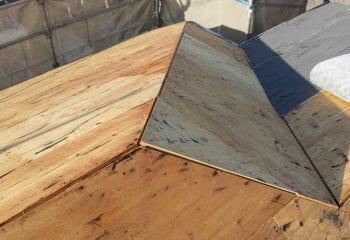 パミール 野地板増し張りカバー工法