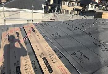 下葺き材張り完成