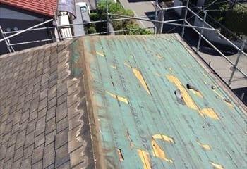 さいたま市西区 屋根修理開始