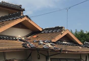 屋根の重さと地震