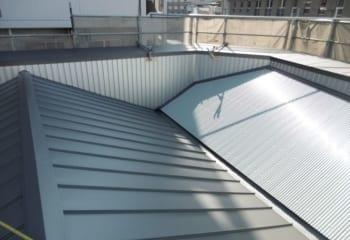 奈良市 ガルバリウム鋼板屋根完成