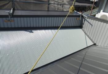 奈良市 パラペット屋根のリフォーム工事完成