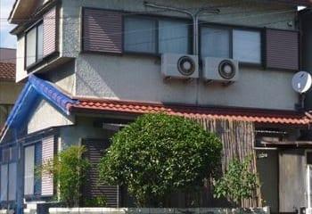 東大阪市 屋根外壁リフォーム 工事前