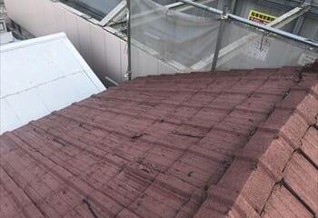 大阪市平野区 屋根調査 セメント瓦