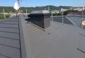 西宮市 屋根カバー工法リフォーム完成