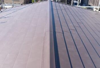 市川市の屋根リフォーム工事完成
