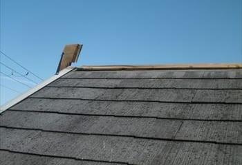 堺市屋根調査 板金の飛散