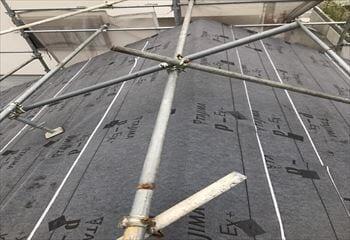 ご契約後、屋根リフォーム開始