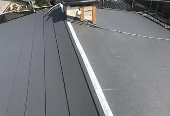 屋根材本体張り