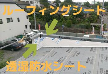 笠木板金雨漏り修理方法