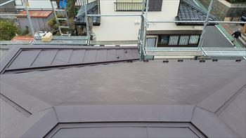 横浜市栄区屋根張り替えリフォーム工事完成です