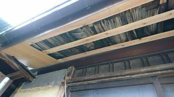 軒天井の施工