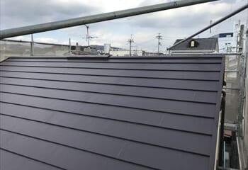 大阪市東淀川区 屋根葺き替え工事完成