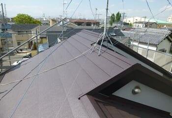 神戸市東灘区 屋根リフォーム工事完了