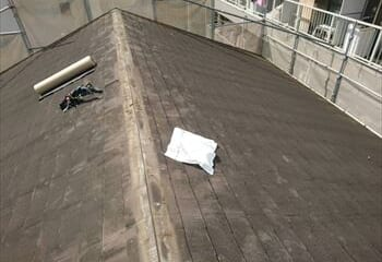 世田谷区 屋根修理工事 開始
