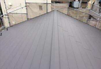 世田谷区の屋根リフォーム工事完成