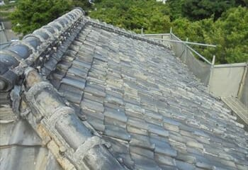 船橋市 既存屋根の状態確認