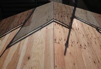 構造用合板張り
