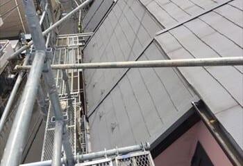 川口市の屋根リフォーム工事開始