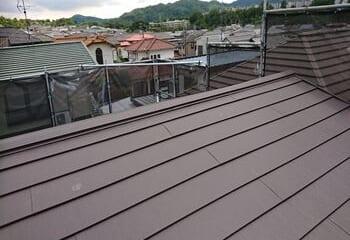 神戸市須磨区 かわらU屋根リフォーム完成