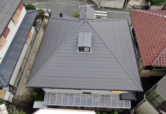 屋根の状態 施工後