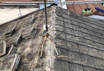 板橋区の屋根リフォーム工事開始