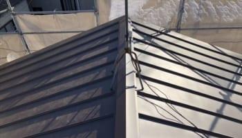 板橋区のアパート屋根葺き替え工事 完成です!