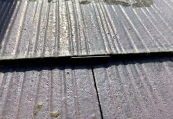 スレート屋根のタスペーサー