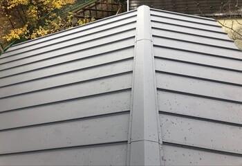 棒屋根の葺き替え