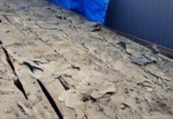 世田谷区 セメント瓦屋根葺き替え工事開始