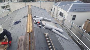 川崎市幸区 屋根リフォーム工事 開始