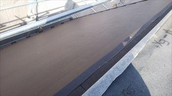 腰折れ屋根の板金加工