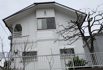 横浜市青葉区の外壁塗装完成
