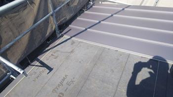 ガルバリウム鋼板 立平葺き