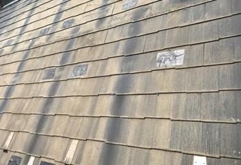 川崎市川崎区のパミール屋根工事開始