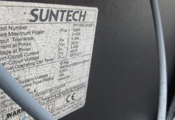 太陽光パネルの点検