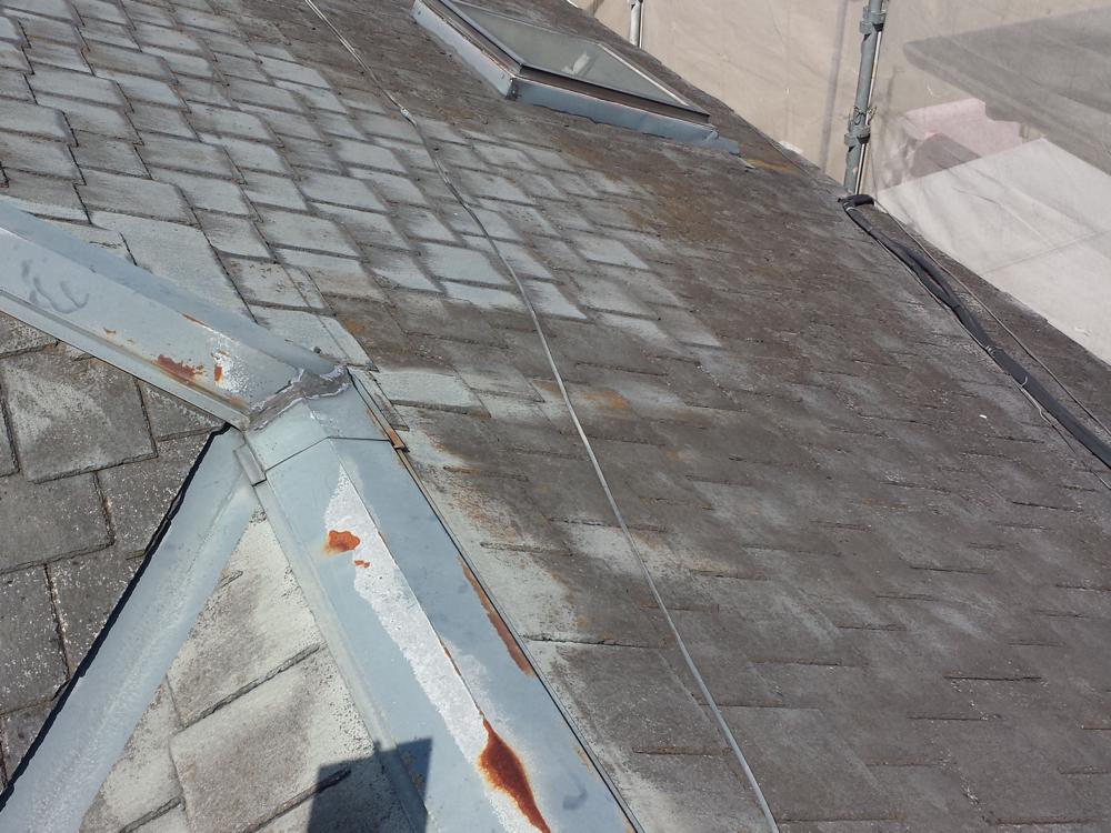 修理すべき屋根